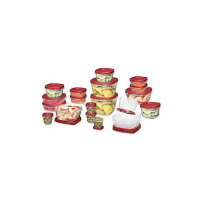 Rubbermaid 40-Piece Easy Find Lid Food Storage Set
