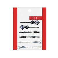 Elle Assorted Metallic Bobby Pins 6 Ct