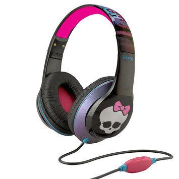 Monster High iHome Headphones by eKids MI-M40MH. FX