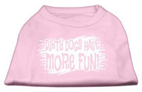 Ahi Dirty Dogs Screen Print Shirt Light Pink XXXL (20)
