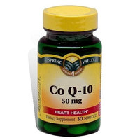 Spring Valley - Co Q-10, 50 mg, 30 Softgels