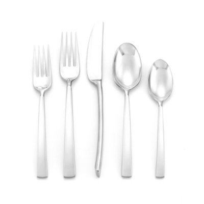 Donna Karan Lenox Flatware 18/10, Ascend 5 Piece Place Setting