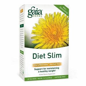 Gaia Herbs Diet Slim Herbal Tea