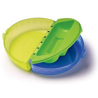 NUK Gerber Graduates Easy Go Folding Bowl, 7 Months, Colors May Vary (Discontinued by Manufacturer)