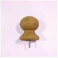 Waddell Manufacturing 2X3/4X4-1/4 BALL POST TOP WADDELL MFG CO 212