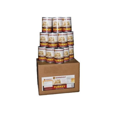 Survival Cave Food Canned Turkey, 12 - Pk. 14 1/2 - oz. cans