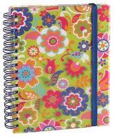 Suzette Floral Lined Wiro Journal 4