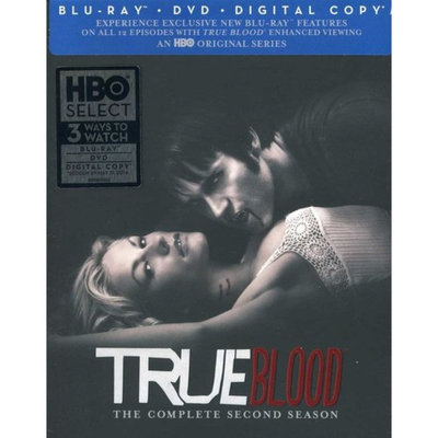 True Blood: The Complete Second Season (Blu-ray + DVD) (Widescreen)