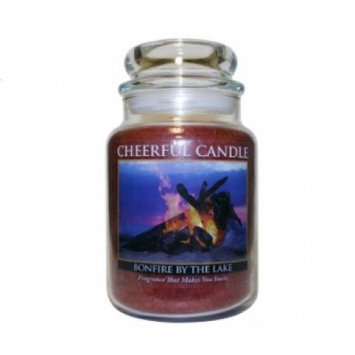 A Cheerful Candle CC22 BONFIRE BY THE LAKE 24OZ - Pack of 2