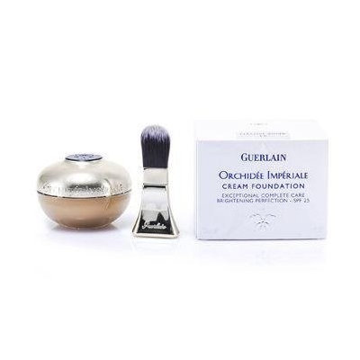 Guerlain 169401 No. 4 Beige Moyen Orchidee Imperiale Cream Foundation Brightening Perfection SPF 25 30 ml-1 oz