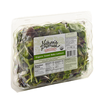 Nature's Promise Organics Organic Sweet Baby Lettuce
