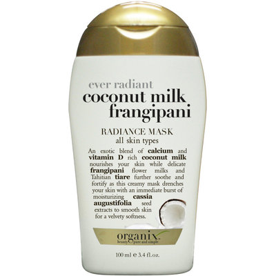 OGX® Ever Radiant Coconut Milk Frangipani Radiance Mask