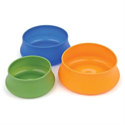 Guyot Designs Squishy Pet Bowl Tahoe Blue 32oz
