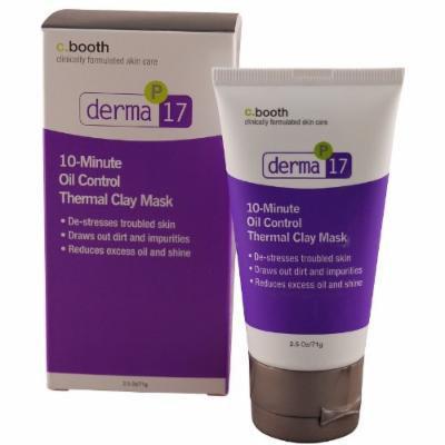 Derma 10 Min. Oil Control Clay Mask-2.5 oz