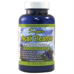 Super Acai Cleanse, 60 Capsules, MaritzMayer Laboratories