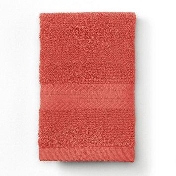 Martex Abundance Solid Washcloth, Orange