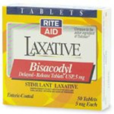 Rite Aid Laxative, 5 mg, Tablets, 50 ct