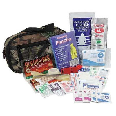 PHYSICIANSCARE 90328G First Aid Kit, Emergency Prep,47 pcs.
