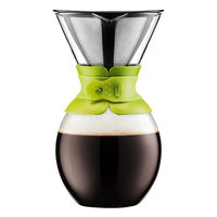 Bodum 51-oz. Pour-Over Coffee Maker with Permanent Filter (Green)