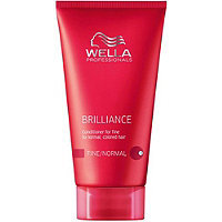 Wella Travel Size Brilliance Conditioner For Fine/Normal Hair