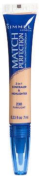 Rimmel Match Perfection Concealer & Highlighter Fair/Light