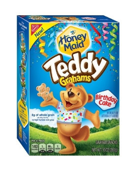Honey Maid Birthday Cake Teddy Grahams