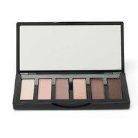 ELLE Cosmetics 6-Pan Eyeshadow Palette, Pink Brown