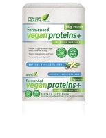 Fermented Vegan Proteins + Vanilla Genuine Health 15 packets Box