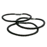 Goody 20Ct Thin Stay Put Black Elastics