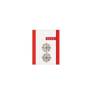 Elle Iridescent Stone Jeanwire Flower Clip 2 Ct