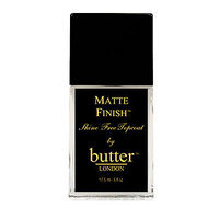 butter LONDON Matte Finish Topcoat, .4 oz