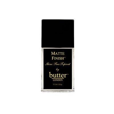 butter LONDON Matte Finish Topcoat, .4 oz