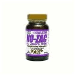 No-Zac St. John's Wort by Only Natural - 60 Capsules