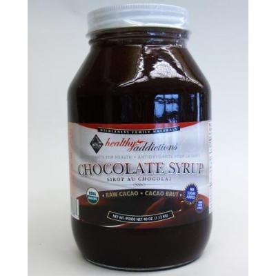 Chocolate Syrup, Certified Organic, Raw, Net Wt. 40 oz.