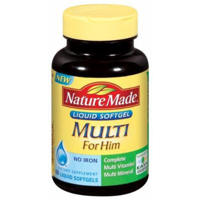 Nature Made For Him, 60 Liquid Softgels (Pack of 3)