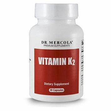 Dr. Mercola Vitamin K2 - 30 Capsules - Supports Memory Function and Bone Health - 150mcg of K2-7 Per Capsule