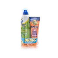 Banana Boat Ultra Mist Soothing Aloe After Sun Spray Gel 236ml/8oz + Bonus 4oz Sport Sunblock Ultra Sweatproof