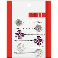Elle Assorted Silver Bobby Pins 6 Ct