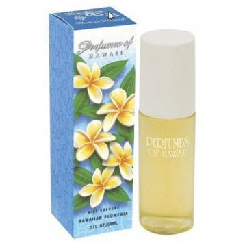 Hawaiian Plumeria Mist Cologne - Perfumes of Hawaii - 2 FL OZ