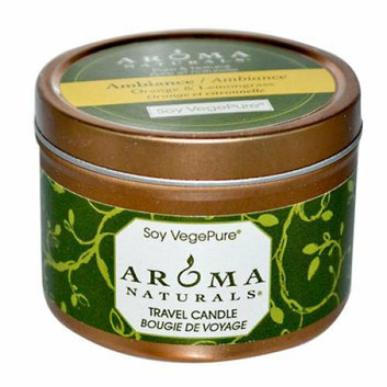 Aroma Naturals Soy VegePure Travel Candle