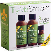 Dermorganic Travel Gift Try-Me Set