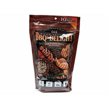 BBQ'rs Delight Oak Wood Pellets 1lb Bag