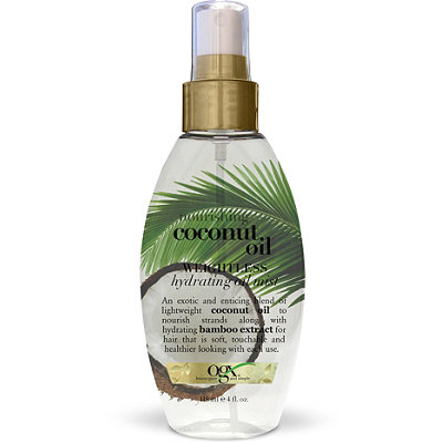 OGX® Coconut Oil Weightless Hydrating Oil Mist