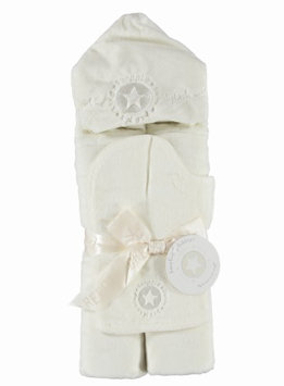 Barefoot Dreams Hooded Towel Cream - Starfish