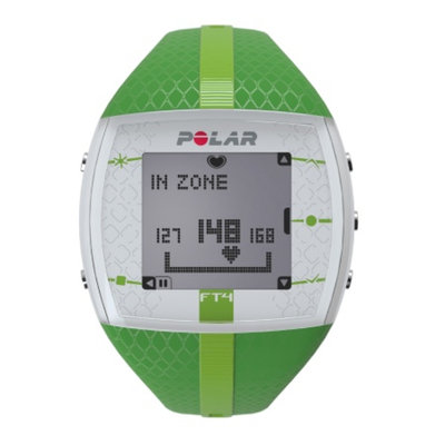 Polar FT4F Heart Rate Monitor, Green, 1 ea