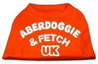 Ahi Aberdoggie UK Screenprint Shirts Orange Lg (14)