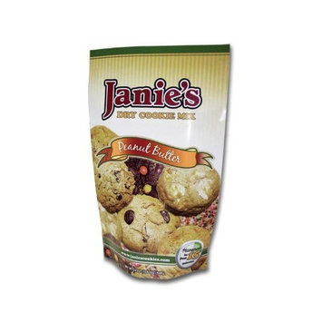 Janie's Cookie Company Peanut Butter Dry Cookie Dough Mix, 1.5-Pound Bags (Pack of 3)