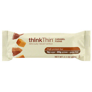 thinkThin Caramel Fudge High Protein Bars