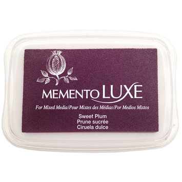 Tsukineko Inc. Tsukineko Memento Luxe Full Size Inkpad Sweet Plum