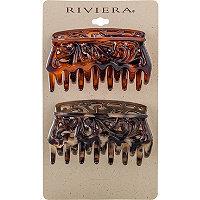 Riviera Fashion Claw Clip 2 Ct